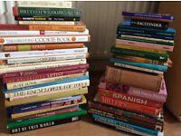 Books, 50 various books