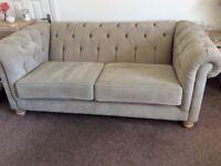 Modern Chesterfield Style Sofa.