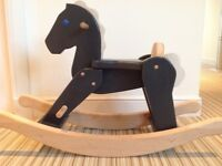 Solid Wood Rocking Horse - toddler to c5yrs