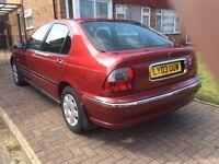 Rover 45 impression 1.4 5 door, hatchback, petrol, manual, low mileage, FSH, 1yr mot