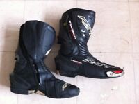 RST motorbike boots in good condion