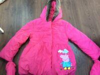 Peppa pig coat