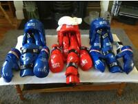 Blitz Children's Martial Arts Pads and Headgear