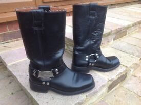Men's Harley Davidson Motorcycle boots size 43