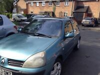 Renault Clio 1.4 Dynamique 2004 .In good condition only 74,000 miles , 12 months MOT , 07908474601