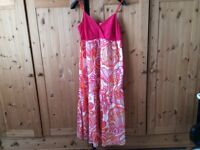 MONSOON BEAUTIFUL FULL LENGTH DRESS size 18