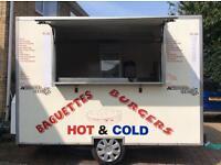 Burger van/ catering trailer