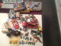 Large collection of Lego, dino, city, ninjago, etc....