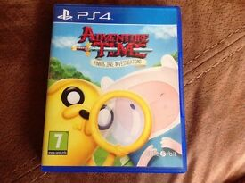 PS4 Game Adventure Time
