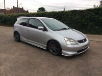 2005 EP3 Honda CIVIC TYPE R BREAKING FOR PARTS