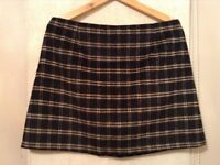 Black & Tan skirt, size 16. Check out my other items for sale, great prices!