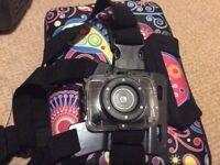 Action camera and memorey card