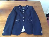 Navy blue childs equestrian show jacket