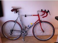 A reluctant sale of my 1983 raleigh team replica.