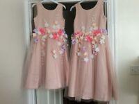 Two Bridesmaid dresses, Rocha J Rocha, age 7 & 9