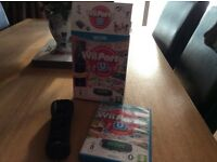 Wii U Party includes Wii U remote plus (black)
