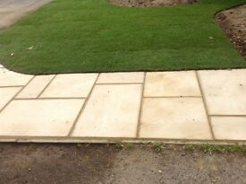 Patio - New Bradstone Smooth Fine Textured in Buff >10.5 m2