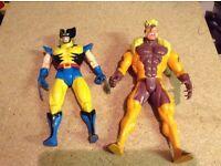 X-men figures