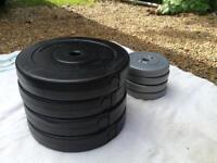 77kg Vinyl Weights Bundle