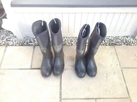 Horse riding muck boots (Tyne)