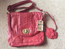 BNWT Red Mantaray Bag
