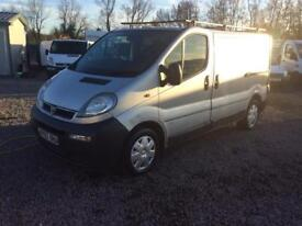 Vauxhall vivaro starts drives and runs superb I'll deal van for work ready to go long