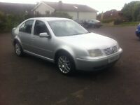 2005 VW BORA HIGHLINE 130BHP 1 OWNER SERVICE HISTORY LONG MOT PX WELCOME £795