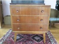 Chest of Drawers, Mid Century Retro Style by Meredew