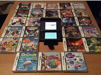 For Sale - Nintendo DSi XL Dark Brown and 25 games