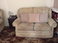 Free two seater and reclining chair