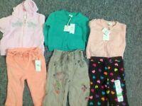 Girls 3-6 months clothes bundle