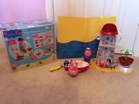 Peppa Pig Holiday Lighthouse Beach Set