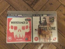 PS3 Games - £4 each