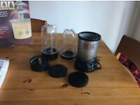 Magic bullet, a great blender, used but in working order.