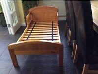Solid pine junior bed