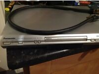 Panasonic DVD player and scart lead