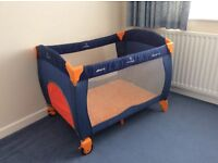 Travel cot by HAUCK