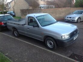 Mazda b2500 diesel single cab rear wheel drive years mot well maintained good condition