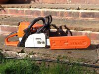 Stihl Rollomatic MS210 chain saw