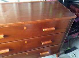 Large wooden drawers