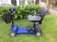 Travel mobility scooter, ideal for bus, train, car boot,