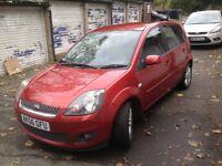 2006 Ford Fiesta 1.6 Ghia, 5 Door, Tango, automatic, FSH, 2 Keys, HPI Clear