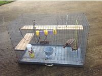 Large metal rat cage , degu possible free delivery