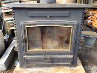 Arrow wood burning stove