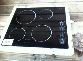 Whirlpool electric hob