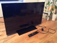Sony BRAVIA KDL-32BX300 LCD TV, with Remote Control & Footstand, used & works fine