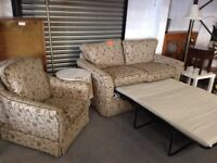 Kirkdale sofa bed and chair
