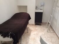 Beauty room for rent in salon