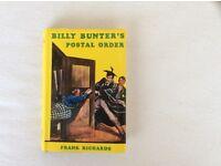 BILLY BUNTER'S POSTAL ORDER - HARDBACK BOOK