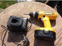 Dewalt cordless power drill 18v